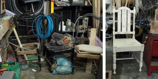 舊椅子改造